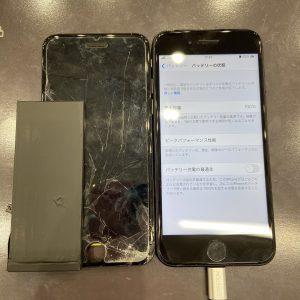 iPhone7画面とバッテリー交換