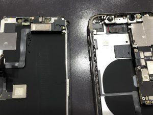 内部に大量の水分が侵入したiPhone11Pro