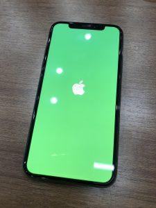 画面交換をしたiPhoneXS