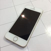 iPhone5S 衝撃で液晶真っ暗!30分で修理完了!!【岡山県倉敷市西阿知からのお客様】