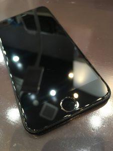 ガラスコーティングをしたiPhone7