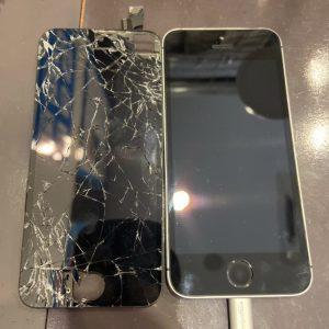 画面交換をしたiPhone5S