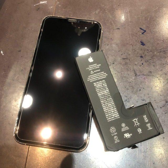 iPhone11Pro バッテリー交換 【奈良県香芝市】
