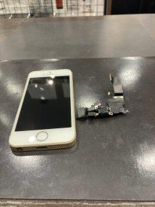 iPhone SE(第一世代) ドックコネクタ交換後