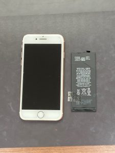 アイフォーン8 バッテリー交換 小倉南区