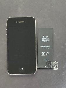 アイフォーン4s バッテリー交換 田川郡