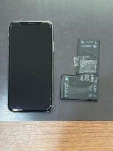 アイホンX 電池交換 田川市