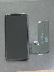 アイフォーン11pro バッテリー交換【iPhone11pro】 鞍手