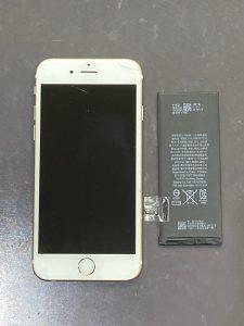 アイホーン6s 電池交換【iPhone 6s】 八幡西区