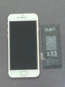 アイフォーン8 電池交換 久留米市
