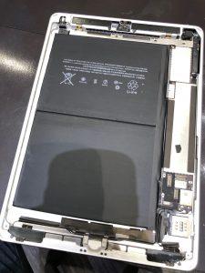 アイパッド電池交換