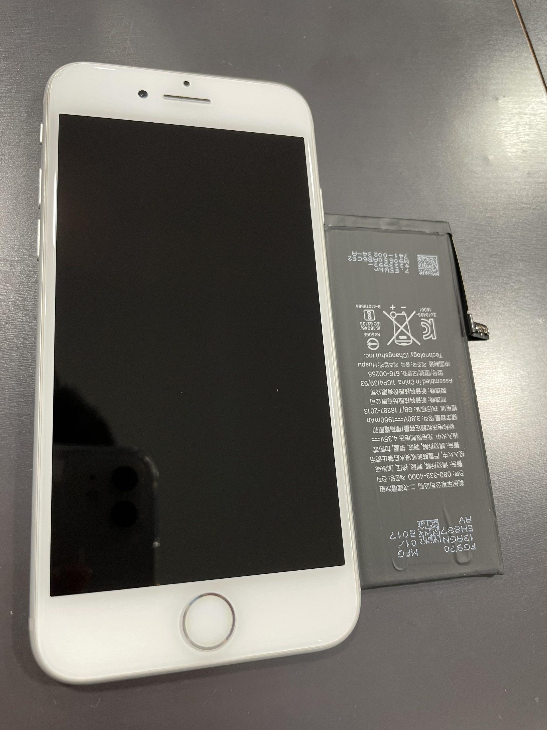 iPhone7の7バッテリー交換致しました!荒尾市よりお越しのお客様です!
