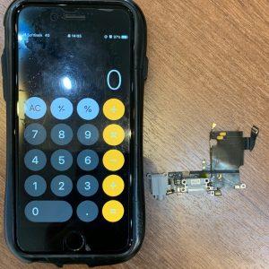 コネクター交換修理を行ったアイフォン6s