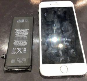 iPhone6 バッテリー交換<大阪市からお越しのお客様>