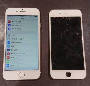 iPhone7画面液晶修理