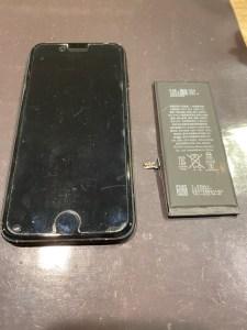 iPhone7/バッテリー交換