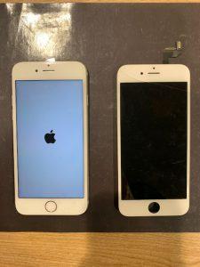 iPhone6Sの水没復旧作業です