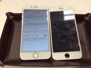 iPhone 7画面割れ修理