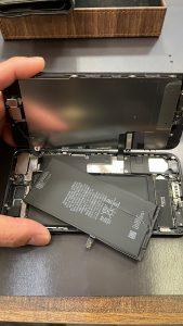 アイフォンセブンプラスバッテリー交換