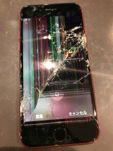 iPhone8画面交換+バッテリー交換