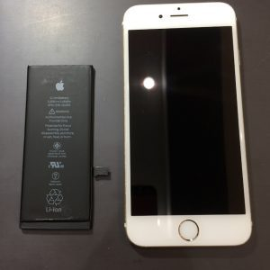バッテリ交換をしたiPhone7