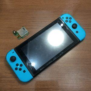 任天堂スイッチ、ゲームのカードが読み込まない!ソフトが出来ない!スマートクールでご修理可能です!【香川県東かがわ市からのお客様】