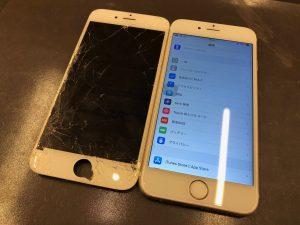 画面交換・iPhone6S・高松市のお客様