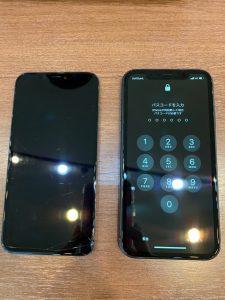 画面交換をしたiPhoneXR