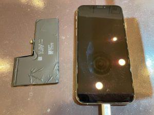 バッテリー交換をしたiPhoneXS