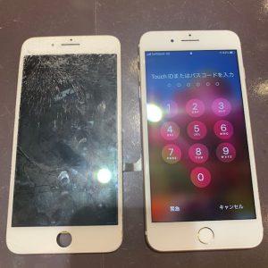 画面交換をしたiPhone7P