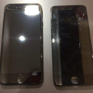iPhone8の画面交換・データそのままで新品の画面へ?!・善通寺市のお客様