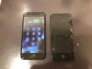画面交換をしたiPhone7
