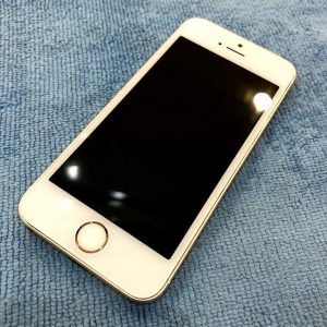 ガラスコーティング施工をしたiPhone5s