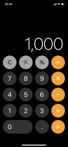 計算式を打ち間違えた時の訂正方法