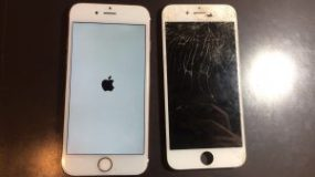 iPhone7 画面交換 横浜市青葉区からご来店