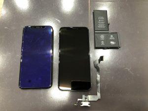 iPhoneX 水没 横浜市からご来店