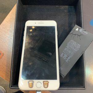 バッテリー交換したiPhone7P