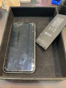 バッテリー交換したiPhoneXR