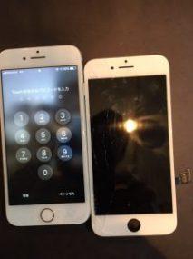 iPhone7 ガラスコーティング 川崎市からのご来店