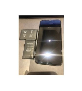 iPhoneX|バッテリー交換|川崎市からのご来店