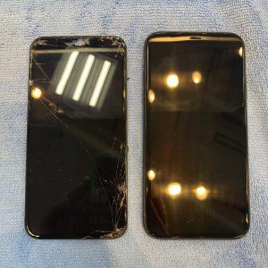 画面交換したiPhone11