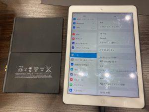 iPadバッテリー