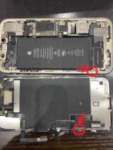 iPhoneに水が入ったというチェックマーカー