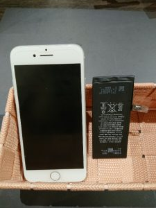 iPhone修理 iPhone7 電池交換 バッテリー交換