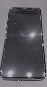 アイフォン10画面修理前