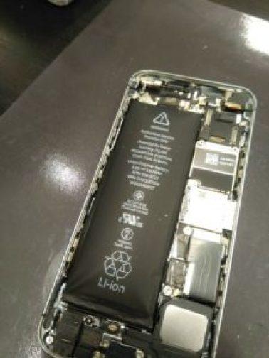 バッテリー交換 電池交換 バッテリー膨張