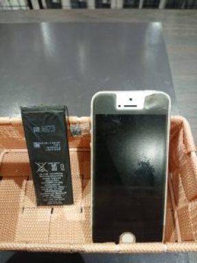 5S バッテリー交換 電池交換