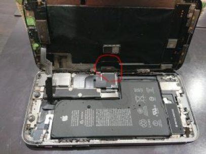 iPhoneXS 水没