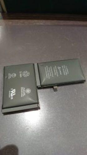 IphoneX バッテリー交換 膨張