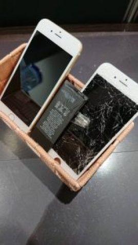 iPhone6 画面交換 電池交換